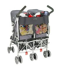 Maclaren universal twin buggy/poussette organisateur-anthracite neuf