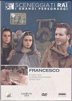Dvd Sceneggiati Rai SAN FRANCESCO D'ASSISI con Mickey Rourke completa nuovo 1989