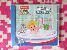 NEW Fisher Price Little People Bath Time Sing-Along Music CD Kids
