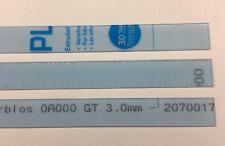PLEXIGLAS® Acrylglas Streifen farblos Beschwerung für Raffrollo 100cm