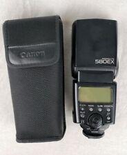 Canon Speedlite 580EX Flash With Case for Canon EOS SLR Digital Cameras