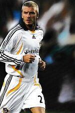 Football Photo>DAVID BECKHAM LA Galaxy 2007-08