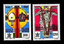 VATICANO - 1996 - 400° dell'Unione Brest-Litovsk e 350° dell'Unione Uzhorod