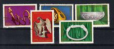Rumänien Briefmarken 1978 Dako-römische Archäologie Mi.Nr.3549-53