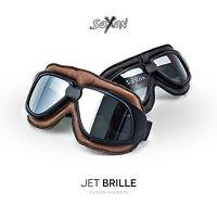 SOXON SG-300 JET-BRILLE FLIEGER-BRILLE BIKER-BRILLE MOTORRAD GOGGLES SP-301