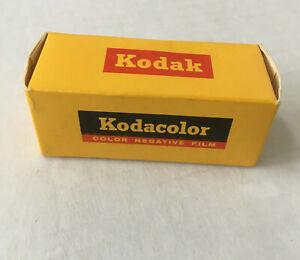 Vintage kodacolor color negative film C 127 expired 1965 still in original box
