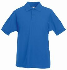 Fruit of the Loom Blue Logo T-Shirts & Tops (2-16 Years) for Boys