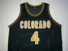 Chauncey Billups Colorado Buffaloes Black Basketball Jersey Gift Any Size