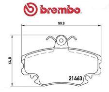 P68008 Kit pastiglie freno, Freno a disco (MARCA-BREMBO)