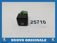 INTERRUTTORE PULSANTE ESP PUSH BUTTON SWITCH ORIGINALE PEUGEOT 206 CC 6554V1