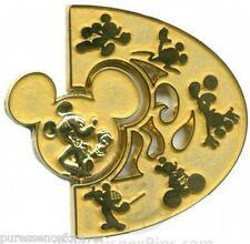 WDW/DLR Summer of Champions: Gold Medal Spinner Pin