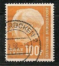 Germany - SAAR  1957, President Heuss  Scott 306