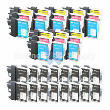 40+ PACK LC65 Ink Set for Brother MFC-5890CN MFC-5895CW MFC-6490CW MFC-6890CDW