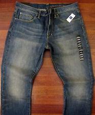 Gap Slim Straight Leg Jeans Mens Size 32 X 32 Sexy Vintage Distressed Wash NWT