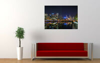 """MELBOURNE CITYSCAPE NEW GIANT LARGE ART PRINT POSTER PICTURE WALL 33.1""""x23.4"""""""