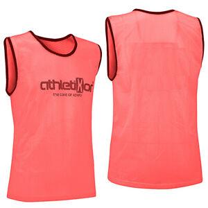 Fussballleibchen Trainingsleibchen Markierungshemd Leibchen Farbe Pink XL