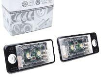 Audi originales LED iluminación de la matrícula a3 8p a4 b6 8e b7 a6 c6 4f a5 q7 4l nuevo