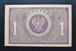 Pologne - 1 Marka - 17 mai 1919