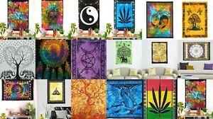 Mandala 33 Pics Lot Bulk Wall Hanging Gypsy Hippie Tapestry Poster Wholesale Art