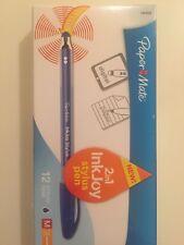 Paper Mate 2 in 1 InkJoy Stylus Pens  M 1.0mm / Digital & Paper Pens (12ct) NEW