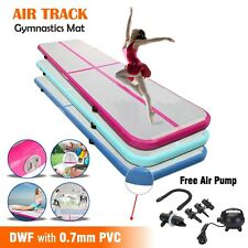Gymnastics Mat, Airtracks Inflatable Air Track, Tumbling Floor Yoga Gym Exercise
