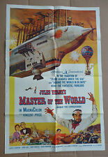 "MASTER OF THE WORLD 1961 Original 27"" x 41"" one-sheet movie poster Vincent Price"