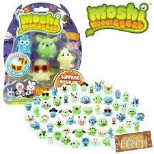 New Moshi Monsters Glow In The Dark Halloween Season 1 5 Figure Pack Official