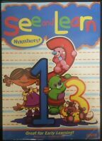 See and Learn - Numbers (DVD, 2006)
