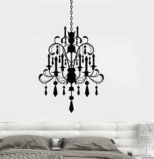 Wall Vinyl Decals Chandelier Living Room Lamp Modern Cool Decor z3704