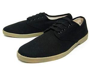 Zig Zag wino shoes blk canvas upper w/gum sole 7201 (OG winos).