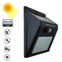 Solar Wall Light 30LED Body Sensor Light Outdoor Waterproof Light Garden Hot