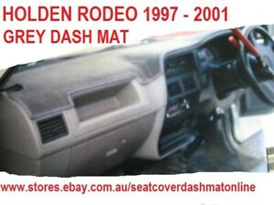 DASH MAT,GREY  DASHMAT, DASHBOARD COVER  FIT HOLDEN RODEO 1997 - 2001, GREY