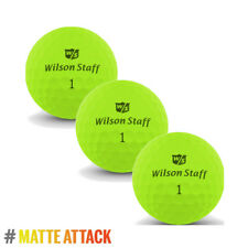 Wilson Staff DX2 OPTIX 2018 Low Compression Soft Matte GREEN 3x Ball Sleeve