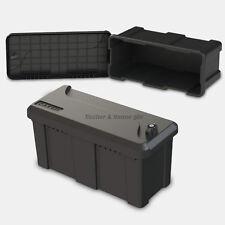 Staubox 25l Deichselbox Unterbaubox PKW Anhänger Kiste Gurtkiste Pritsche Box B1