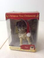 PUG Dog Limited Edition Pet Collection Christmas Ornament American Canine ACA