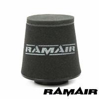 "Ramair Universal 76mm 3"" Internal Neck Cone Air Filter - Intake High Flow Foam"