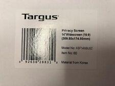 "Targus Laptop Privacy Screen 14"" Brand New"