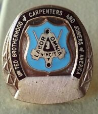 United Brotherhood of Carpenters and Joiners of America lapel pin pre-owned