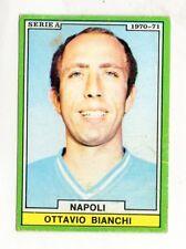 CALCIO  FIGURINA CALCIATORI  EDIS 1970-71  NAPOLI  BIANCHI  NON DA RECUPERO