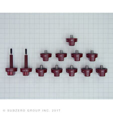 NEW WOLF RED KNOBS KIT W/(2)-SELECTORS for DF48 AND DF60 MODELS