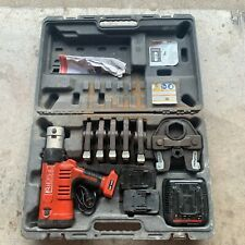 Ridgid Rp 340 Battery Press Tool Kit With Propress Jaws 2 Batteries and Charger