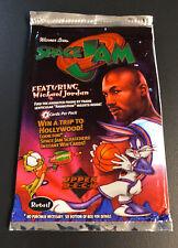 Unopened 1996 Space Jam Upper Deck 8 Card 2 Pack Lot Michael Jordan Vintage