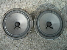 """THE FISHER XP-9C 5"""" CONE MIDRANGE PAIR, M-405, TESTED WORKING, CHECK IMAGES..."""