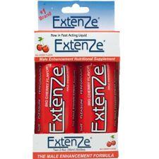 Extenze Male Enhancement Shooters - 2 Ct. - Big Cherry Flavor - 2 Fl Oz