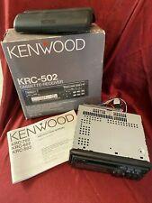 Kenwood Krc 502 Cassette Receiver Car Stereo old school vintage