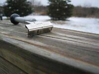 "Schick Injector Type L 1965-1980 ""Schick Stick"" Silver Tone SE Safety Razor"