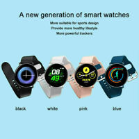 Fashion Smart Watch Bluetooth Heart Rate Blood Pressure Sport Tracker Pedometer