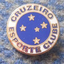CRUZEIRO ESPORTE CLUBE BELO HORIZONTE BRAZIL FOOTBALL SOCCER GREATER ENAMEL PIN