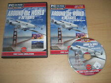 AROUND THE WORLD IN 80 FLIGHTS Pc Add-On Flight Simulator Sim 2004  X FS2004 FSX