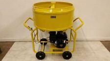 Bulldog Mfg Mortar Mixer Grout Plaster Stucco Honda Gx160 35 Cf 265 Gallons